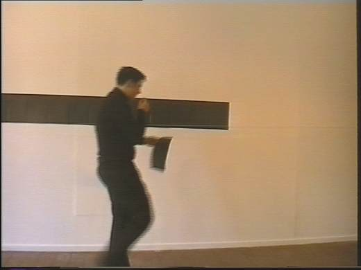 Untitled (Black CV) 1999, still from a DVD in an edition of 3_520
