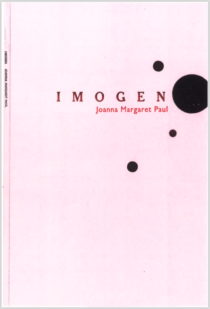 Imogen 2019 Small Bore Books